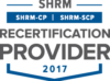 SHRM Recertification Provider 2017