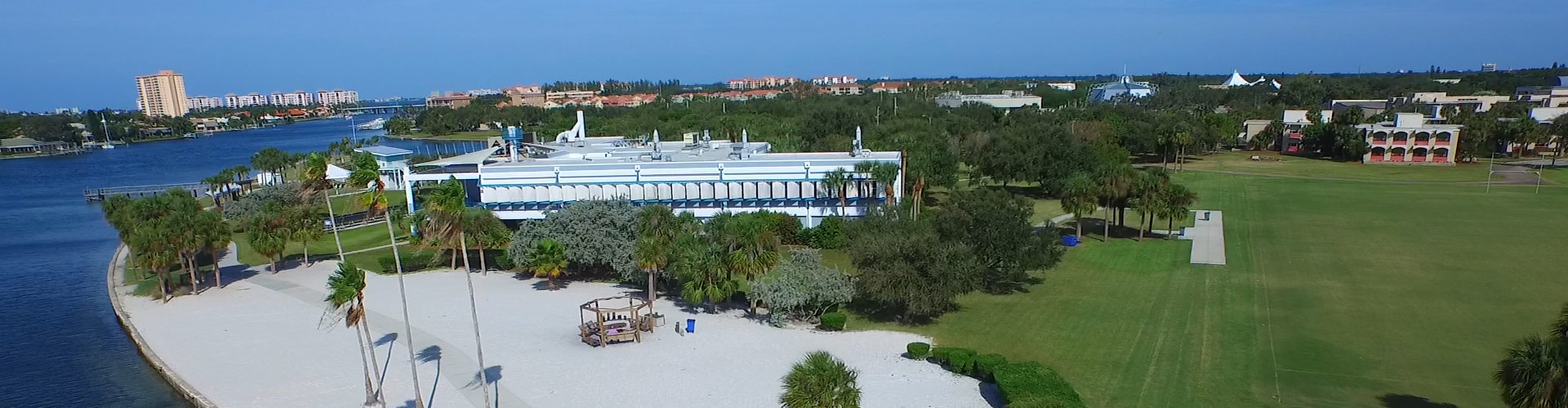 Eckerd College - Mediation Training Institute - South beach aerial
