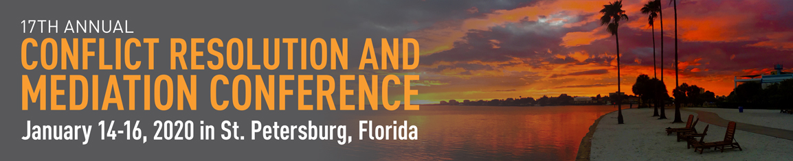 2020 Conflict Resolution and Mediation Conference - Mediation Training Institute (MTI) at Eckerd College