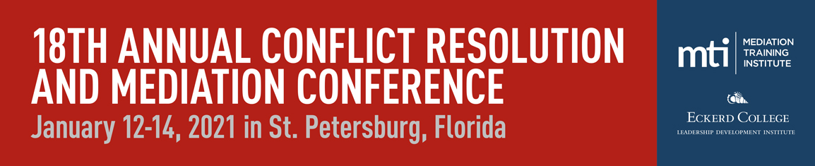 MTI 2021 Conflict Resolution and Mediation Conference